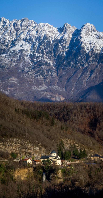 Moraca Monastery in Fall