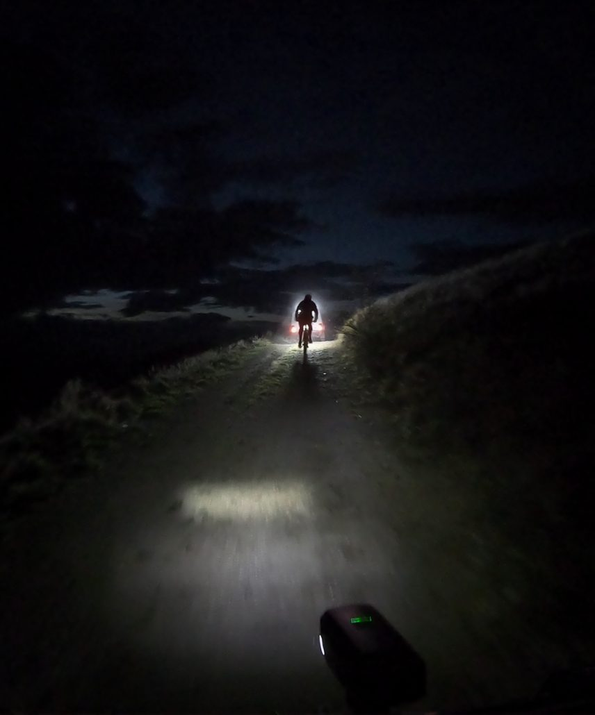 MTB night ride hut to hut adventure with Meanderbug