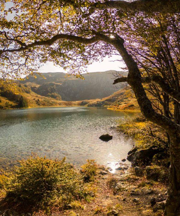 Pesic Lake as launching point for MTB adventures in Montenegro