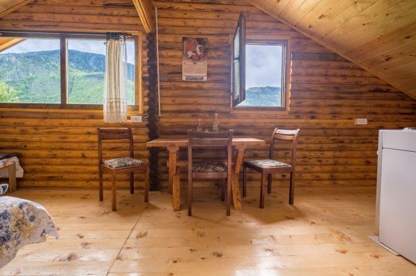 Little Wood Cabin over Tara Canyon Bridge in the Kljajevica Orchard