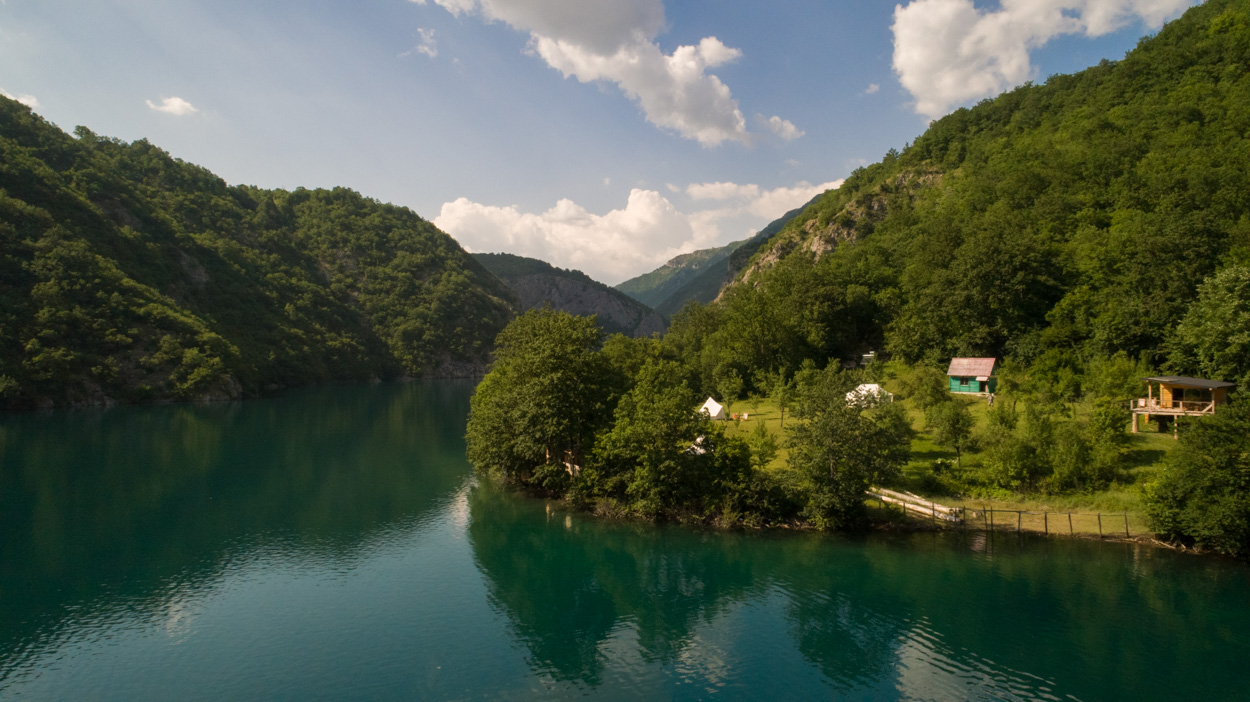 Hidden glamping in Montenegro