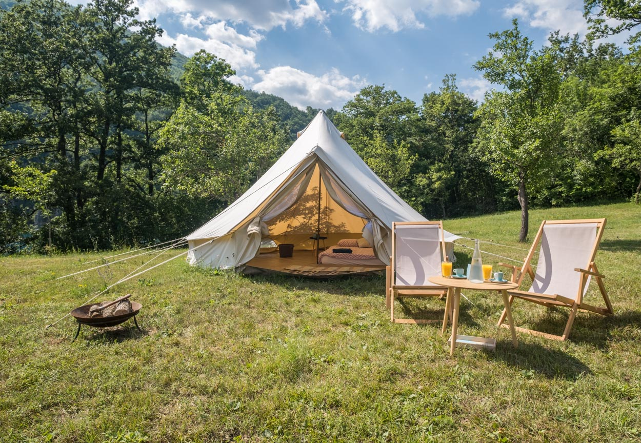 Glamping in Piva Canyon