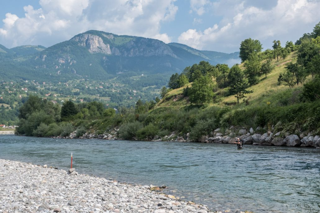 FIPS Fly fishing in Andijevica, Montenegro