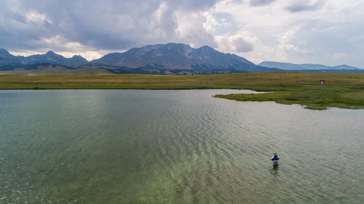 fly fishing in Durmitor National Park