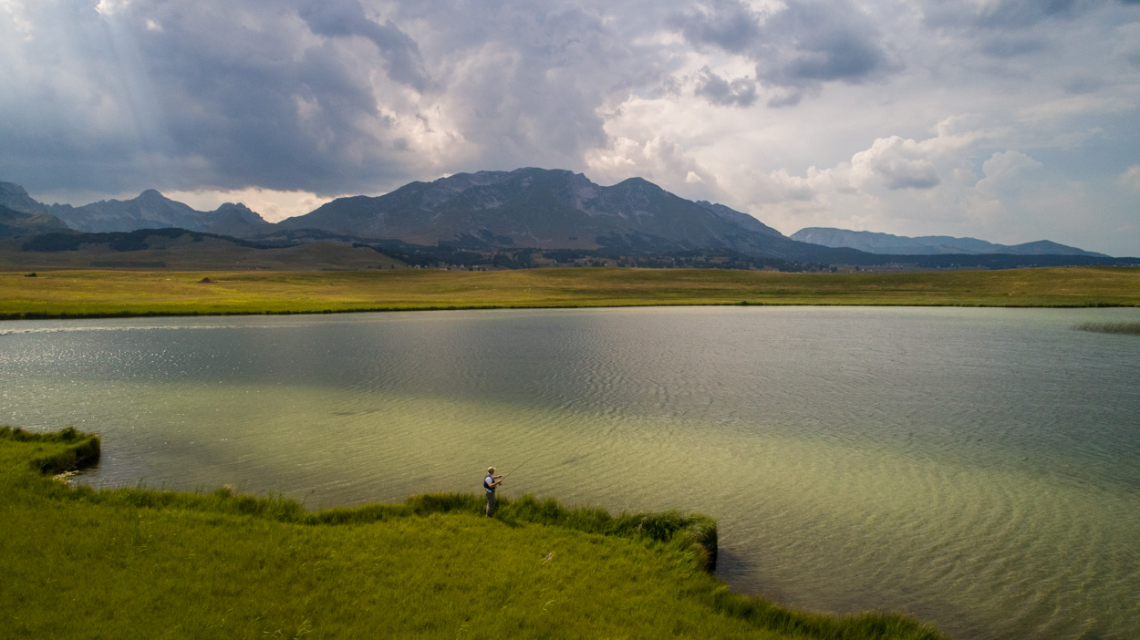 Epic views at fly fishing in Northern Montenegro
