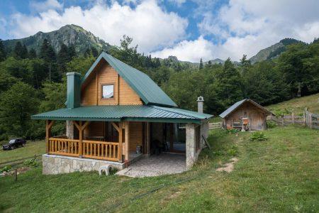 Senica Cabin in Senica Katun in Biogradska Gora National Park