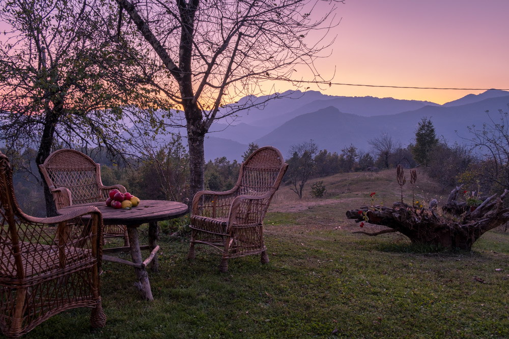 Luxury family farm stay above Moraca Monastery in Montenegro