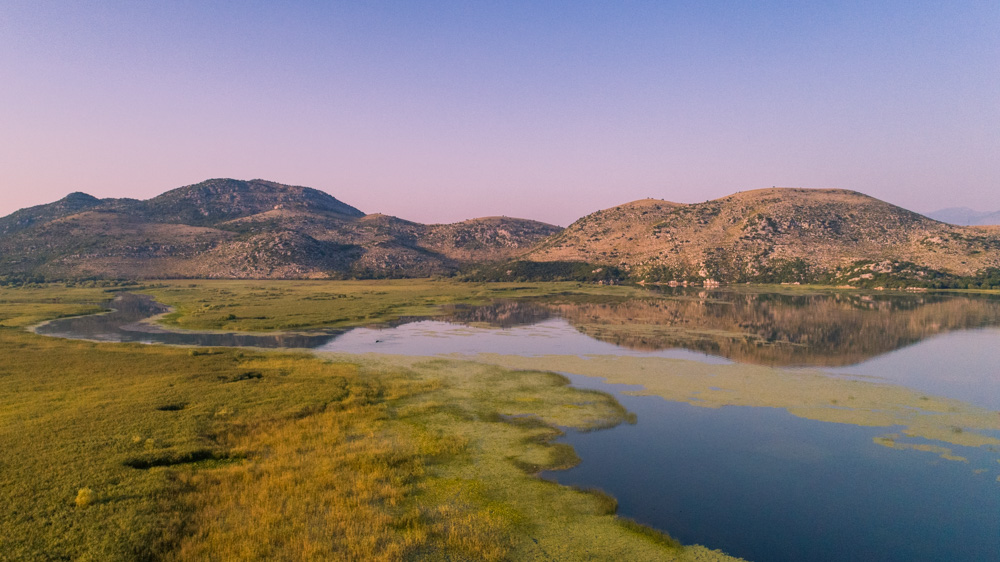 Skadar Lake from a Montenegro Holiday Villa