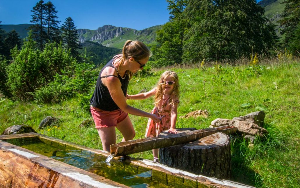Dutch family on family holiday at a katun in Biogradska Gora National Park