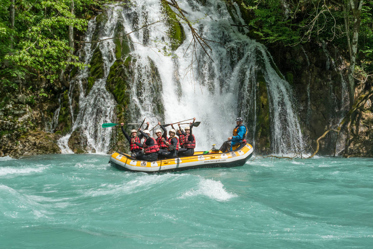 Multi-day Tara River Rafting Expedition