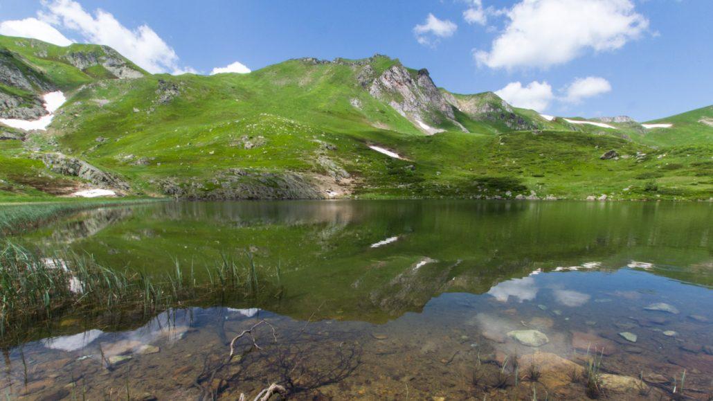 Pesic Lake in Biogradska Gora National Park - Montenegro