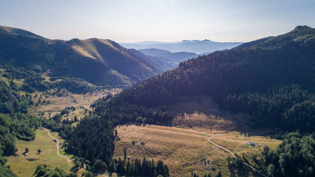 Aerial photography in Biogradska Gora National Park - Montenegro