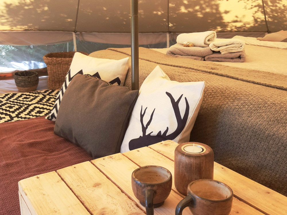Hoopoe Glamping in Montenegro for families or couples
