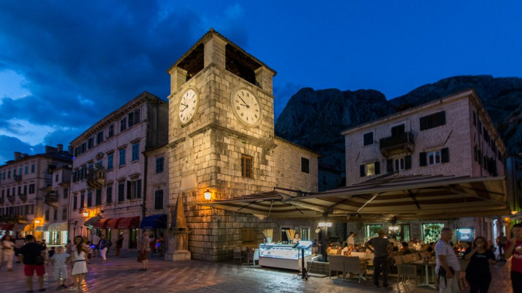 Travel May in Montenegro can include a trip to Kotor Old Town