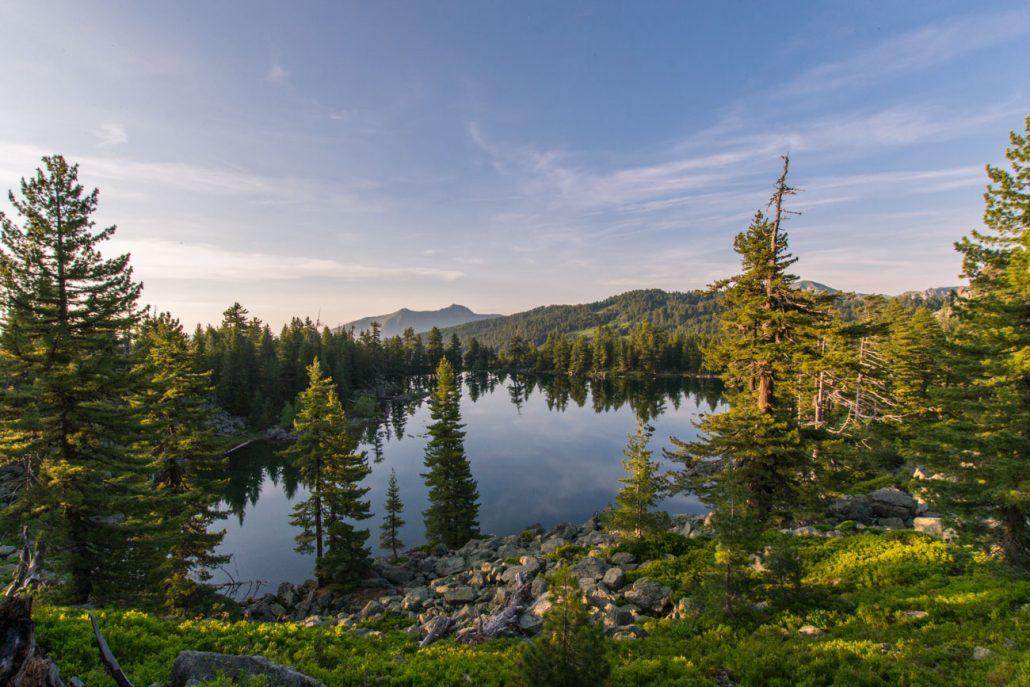 Hrid Lake in Prokletije National Park - Montenegro