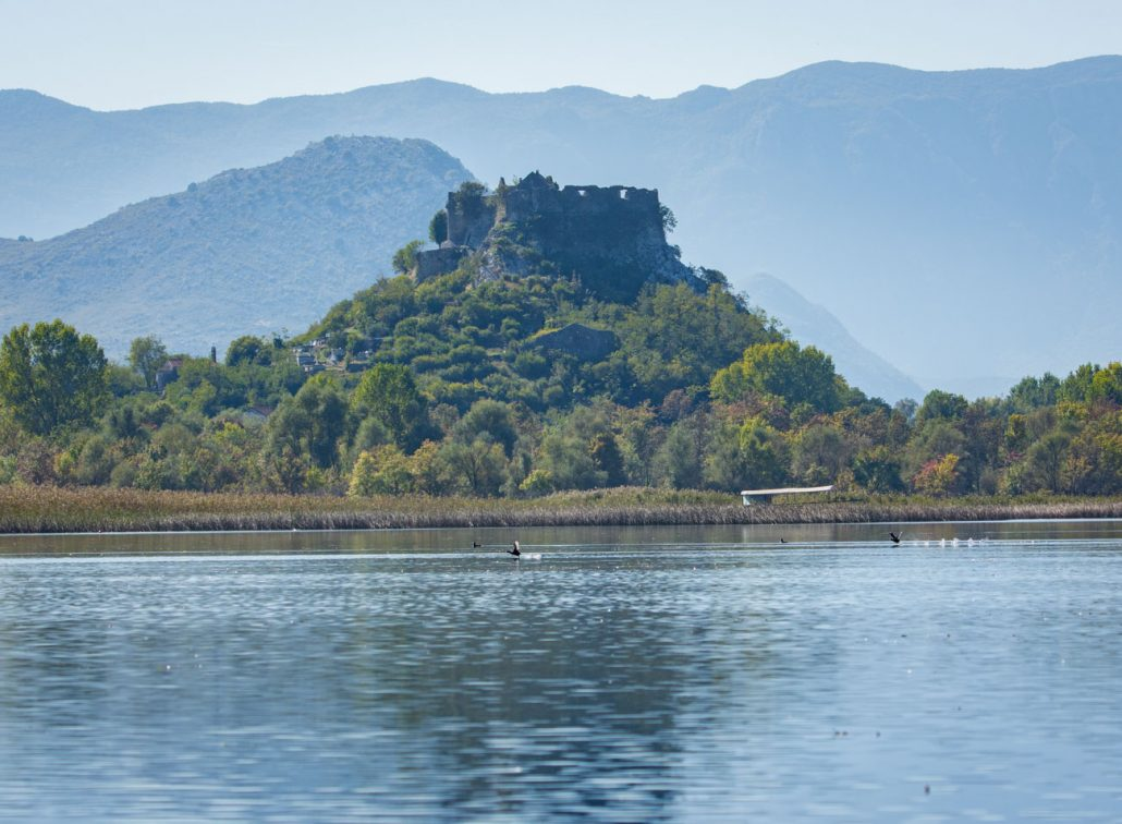 Fortress near Bobija Selo in Skadar Lake National Park
