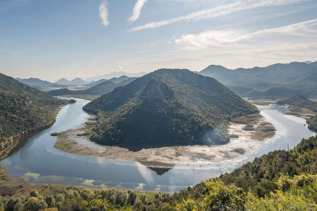 Pavlova Strana at Skadar Lake National Park