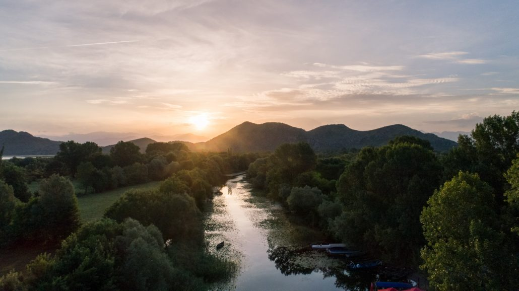 Sunrise in Skadar Lake National Park
